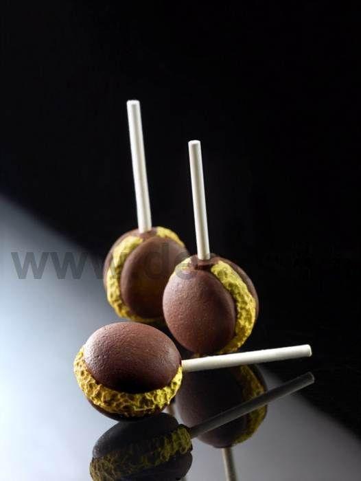 Maca-Pops stampo multiplo 5 soggetti - lollipops Macaron o Amaretti Francesi
