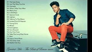 Greatest Hits The Best of Bruno mars - YouTube