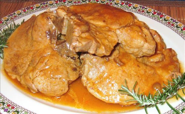 Campbell's Golden Mushroom Soup Pork Chops Recipe - Food.com - 111798