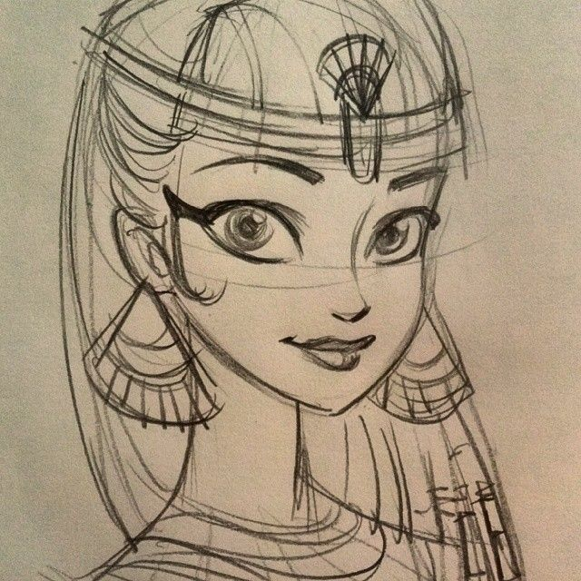 Disney should totally have an ancient Egyptian princess ...