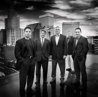 Photography inspiration group portraiture corporate headshot black white high contrast on location outdoor photography
