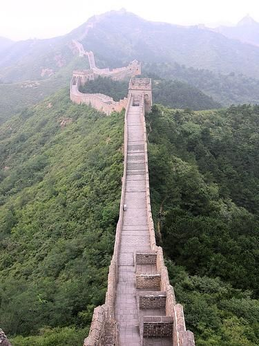 I have been to the Great Wall in Beijing & Tianjin. Both very different sections.: The great wall of China Beijing.