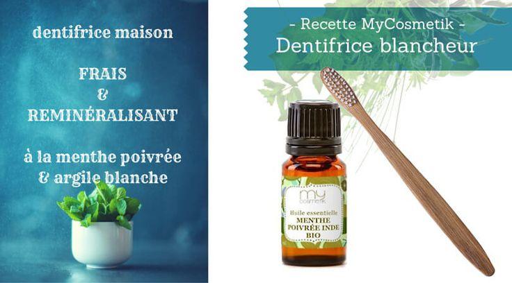 #Beauté naturelle : découvrez une recette pour créer votre dentifrice maison !