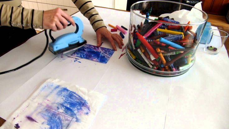 How to make a little piece of art, Encaustic Art by JacquelinePopArts