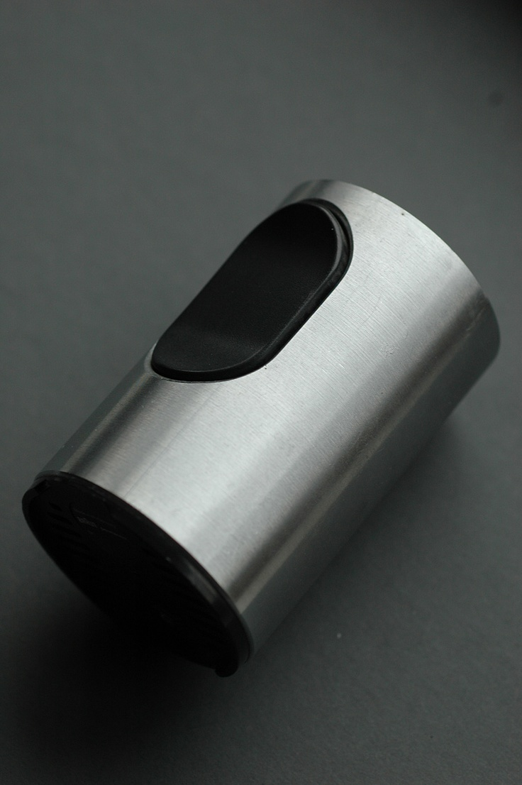 T2 Cylindric cigarette lighter, designed by Dieter Rams for Braun, West Germany, 1968