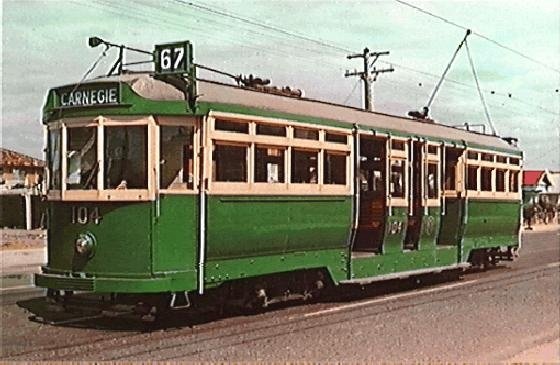 PH 2204.6. Souvenir photograph of Class L tram, 1978. Six of this class were designed by the Prahran and Malvern Tramways Trust and were completed for the Board by an outside contractor in 1921, and are Melbourne's oldest trams. They were all in storage at the time this photograph was produced.