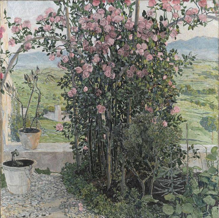 Alexandr Golovin. Umbriysky valley. 1910. Moskow
