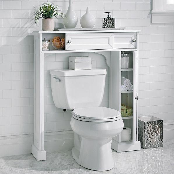 Weatherby Bathroom Over The Toilet Storage Cabinet Improvements Over Toilet Storage Toilet Storage Bathroom Storage