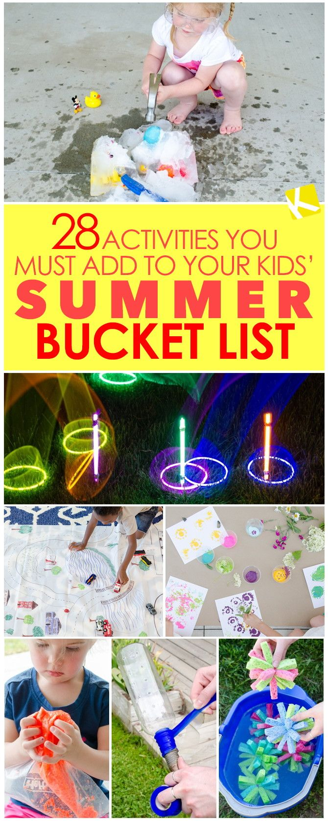Try making a Summer Bucket List with your kids to keep boredom at bay. Here are 28 bucket list items to get you started:   1. Have...