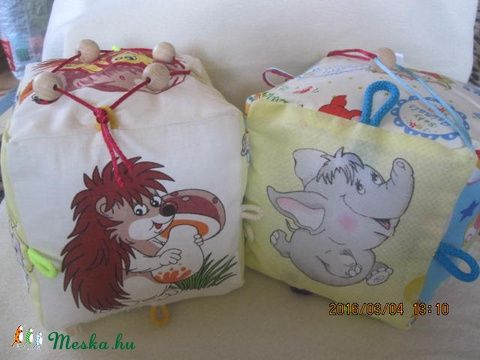 Babakocka ( 15x15 cm-es), Baba-mama-gyerek, Játék, Készségfejlesztő játék, Baba játék, Meska