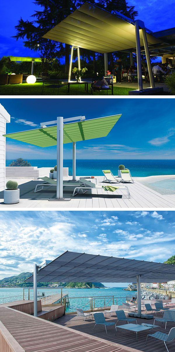 les 15 meilleures images du tableau parasol professionnel sur pinterest pergola zen et aller. Black Bedroom Furniture Sets. Home Design Ideas