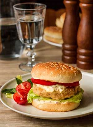 Russian Fish Burgers with Tartar Sauce recipe