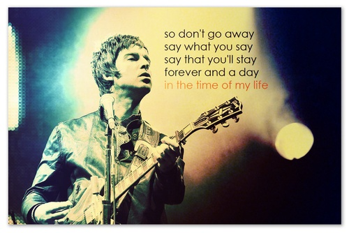 oasis- LOVE THIS SONG!