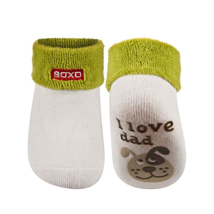 SOXO Infant socks with silicone designed abs (terry) | BABIES \ Socks | SOXO socks, slippers, ballerina, tights online shop