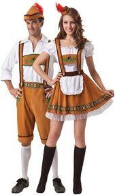 Couples Oktoberfest Fancy Dress Costumes