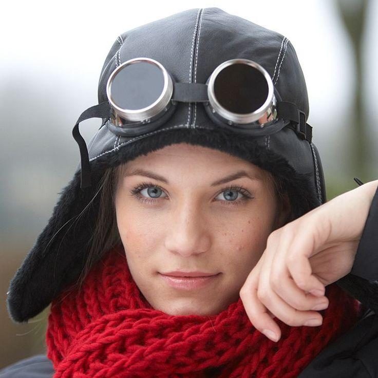 Cappelli da aviatore compra online. Cappello da Aviatore in Capretto by McBURN con spedizione rapida & 100 giorni di garanzia soddisfatti o rimborsati.