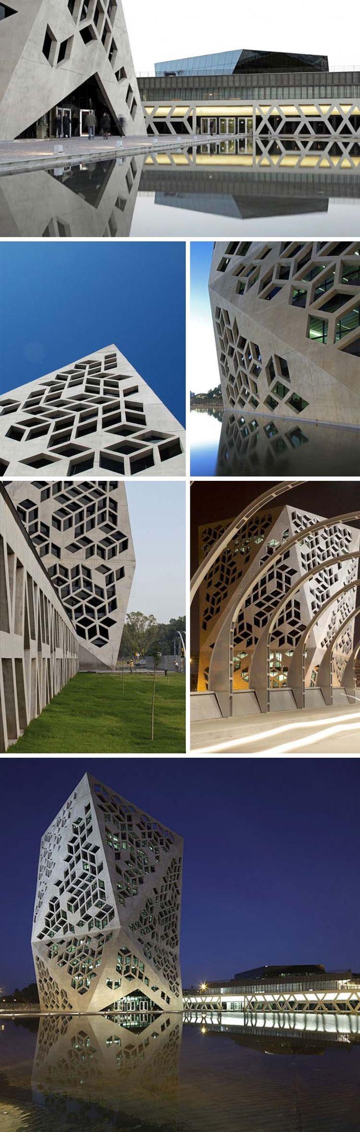Bicentennial Civic Center, Cordoba, Argentina, GGMPU, contemporary architecture in South America