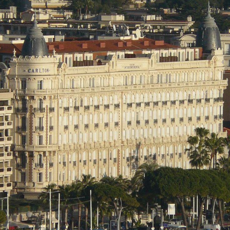 Hôtel Carlton. Cannes. Provence-Alpes-Cote d'Azur. Monument historique