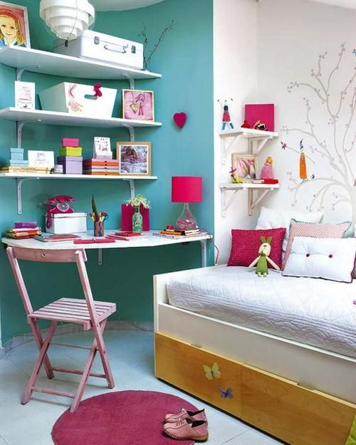 Very Colorful Bedroom: 17 Best Ideas About Turquoise Girls Bedrooms On Pinterest