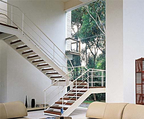 28 modelos de escadas - todos de madeira - Casa