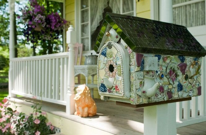 DIY Mailbox Projects   Mosaic Mailbox: by Jeanne Wittkopp   DIY Garden Projects