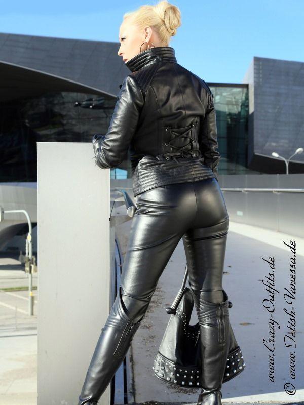 Lederjacke DS-640 : Crazy-Outfits - Webshop für Lederbekleidung, Schuhe & mehr.