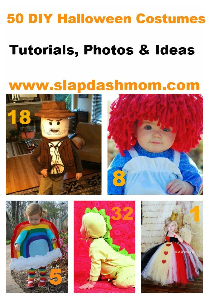 50 DIY Kids Halloween Costume Tutorials & Ideas