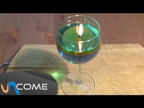 come realizzare il supporto per lo stoppino di una candela ecologica
