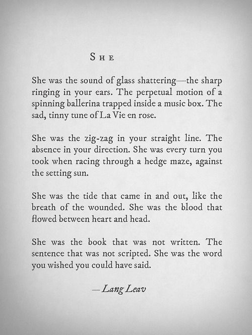 Just so incredibly beautifully written!