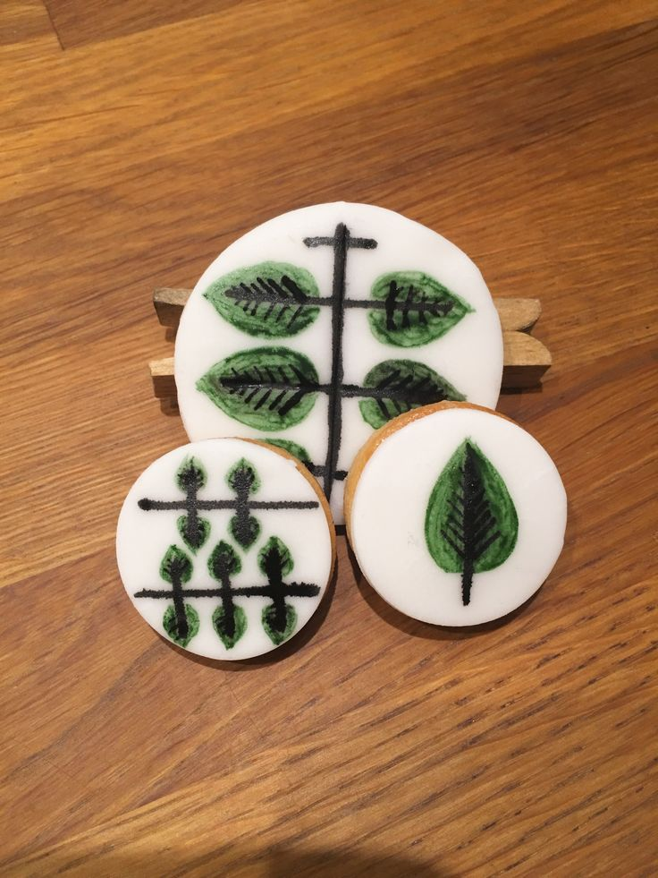 Swedish retropainted cookies.  #AnnaColorcake
