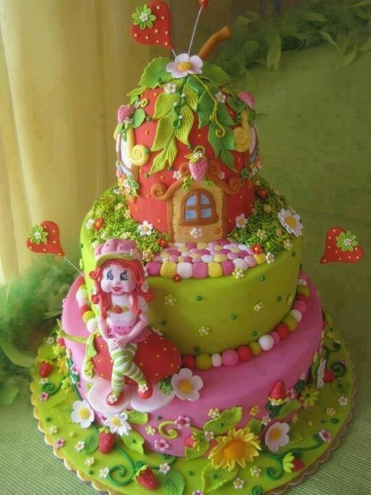 Beautiful Strawberry Cake Images : 18 fantastiche immagini su fragolina dolcecuore su ...