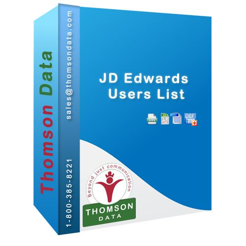 Top Class JD Edwards Customers List from Thomson Data #JDEdwards #Email #Lists