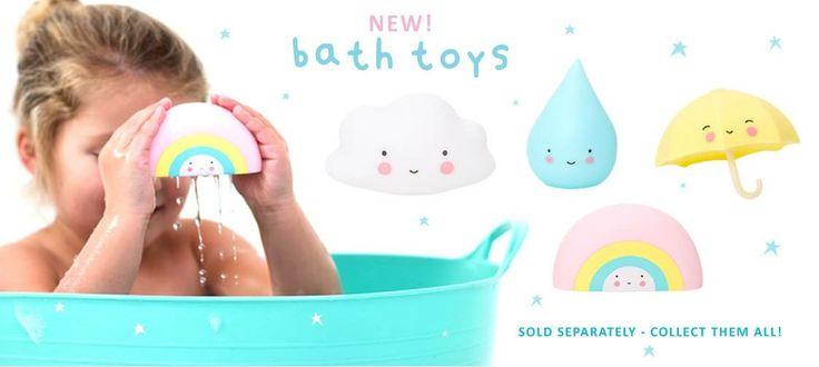 bathtoys - jouets pour le bain A little lovely company