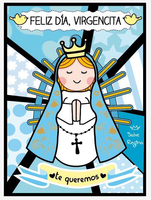 Virgen María del Luján .-