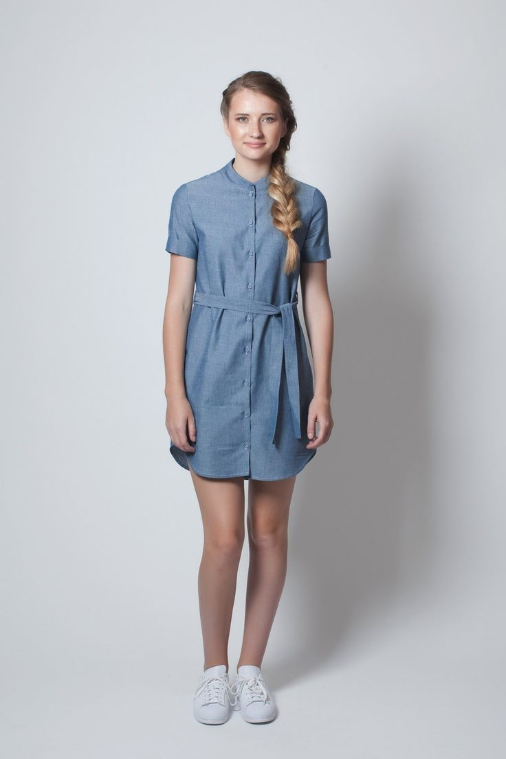 ReCreate | Button Up Dress | Chambray - Ethi