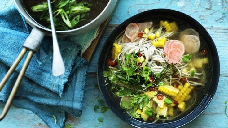 Chicken and corn soup recipe