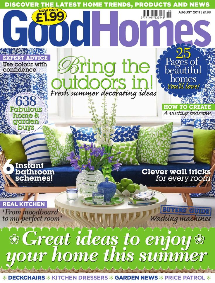 Good Homes Magazine August 2011