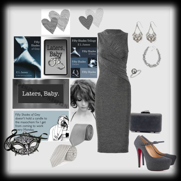 Fifty Shades of Grey, created by sherry7411 on Polyvore