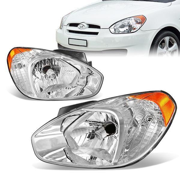 D Motoring 97 99 Buick Lesabre Headlights Chrome Housing Plug N Play Pair Buick Lesabre Buick Headlights