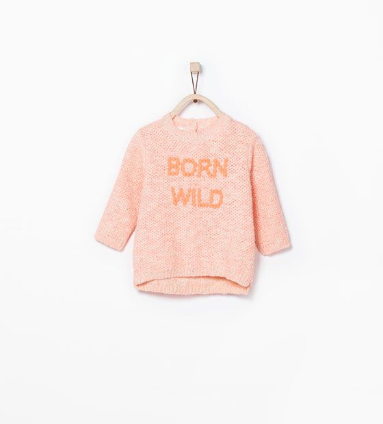 zara b rn sweater born wild kids look pinterest canada kid and baby girls. Black Bedroom Furniture Sets. Home Design Ideas