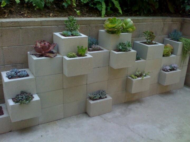 Muro block hueco