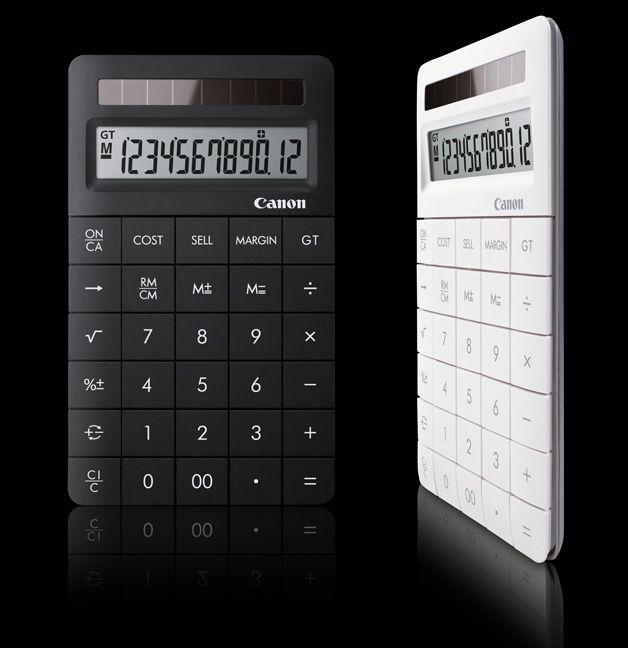 X Mark II  Calculator  Manufacturer Canon Electronic Business Machines (H.K.) Co., Ltd., Hong Kong