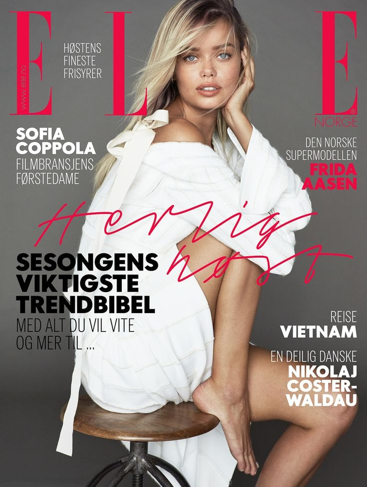 Photography:Asa Tallgard. Styled by: Petra Middelthon. Hair & Makeup: Sissel Fylling. ModelFrida Aasen.