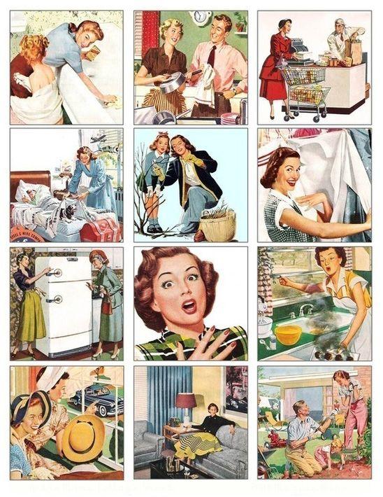 Ladies Vintage Pictures.