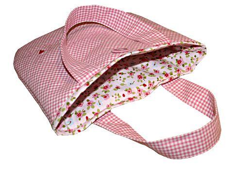 Bildernähkurs Nr.2 Kleine Handtasche für das Fräulein. Sie können die Tasche zum Selbernähen gewinnen!