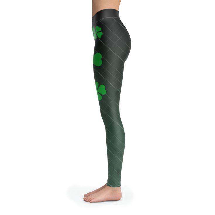 SHAMROCK Leggings $29.95 #shamrock #leggings #stpatricksday