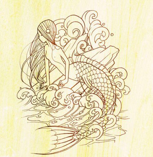 mermaid by j.david mckenney