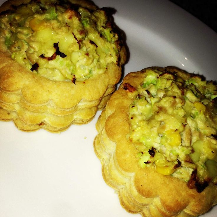 Tuna Vol au Vents | made with your Thermomix | Get the recipe here!