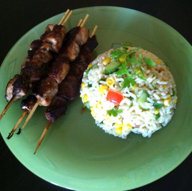 how to use bamboo skewers in oven