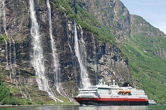 La Norvège à bord de l'Express Côtier